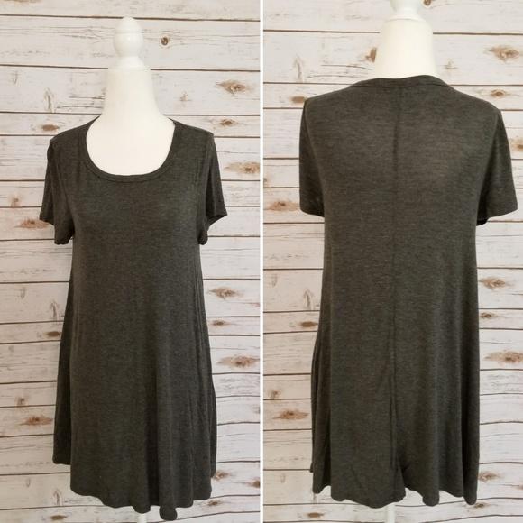 Acemi Dresses & Skirts - Acemi T shirt Dress - Grey